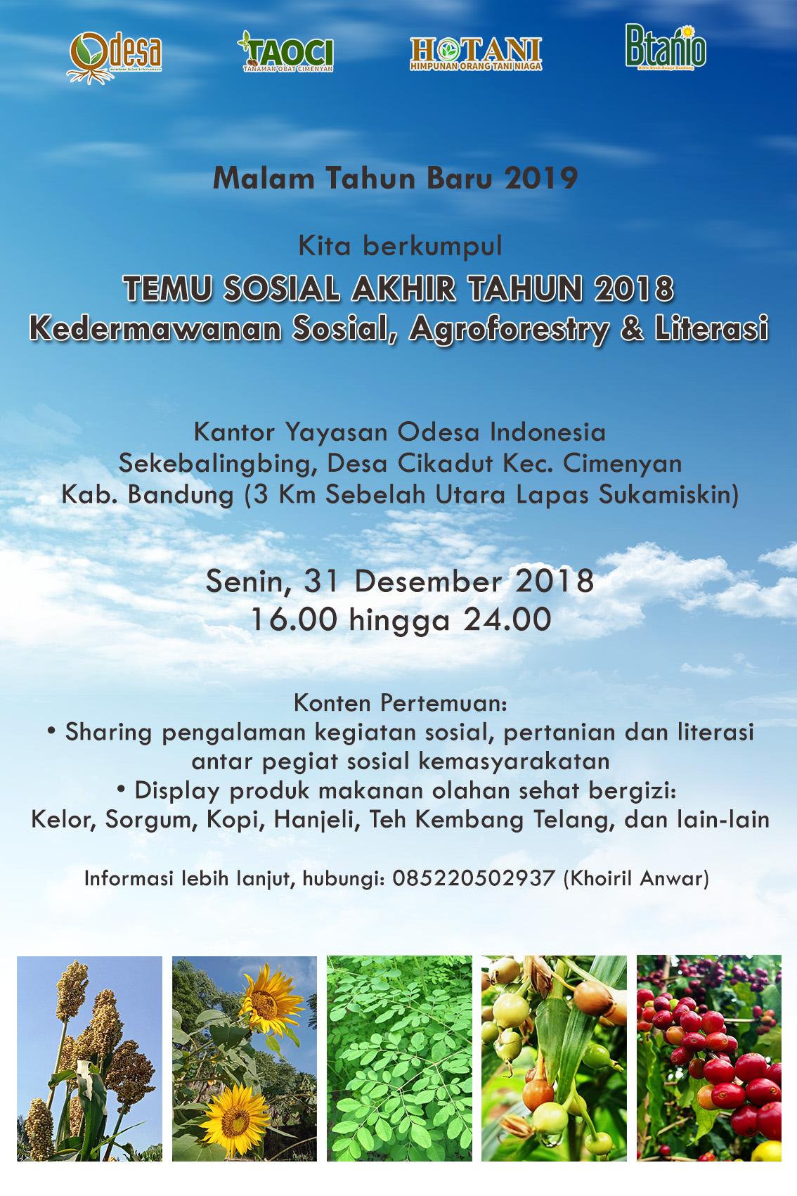 acara yayasan odesa indonesia 2018