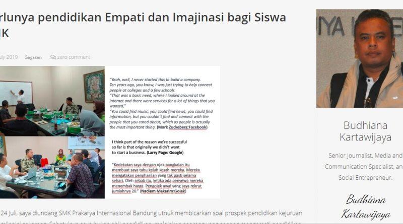 Karakter Pendidikan berbasis Empati dan Imajinasi