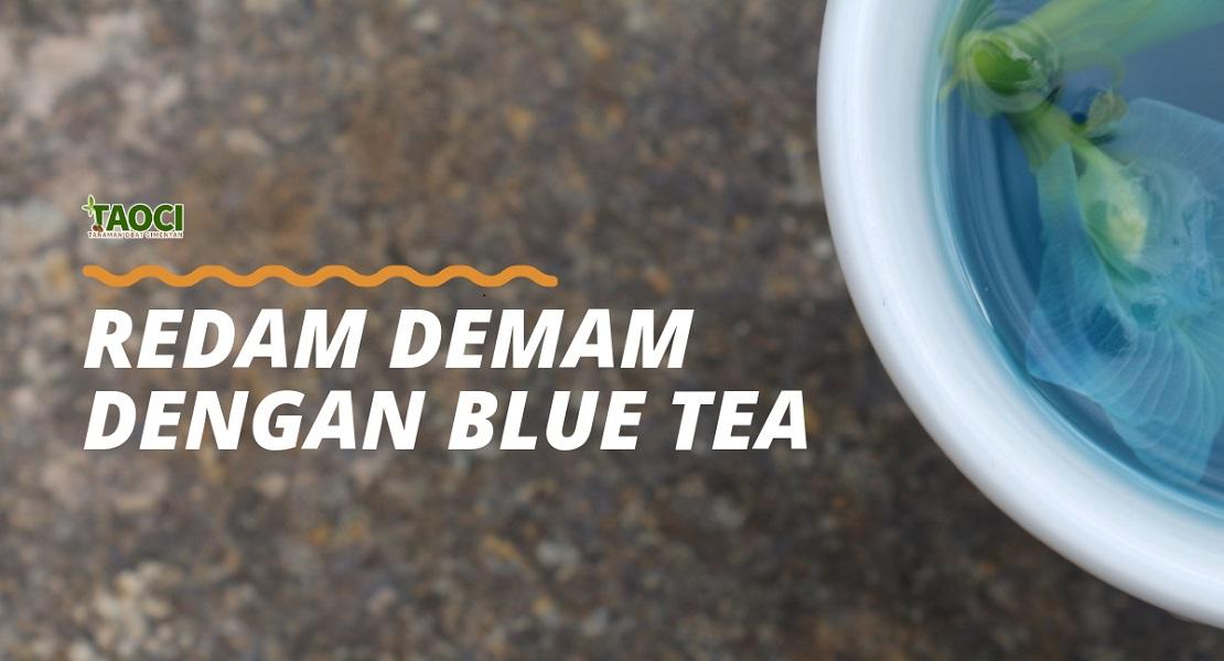 Blue Tea untuk Demam Website edyt