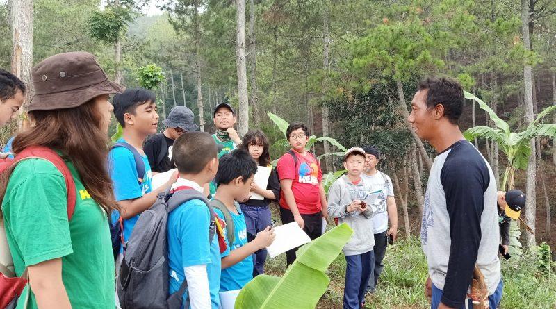 Cendekia Leadership Belajar Agroforestry Langsung ke Petani