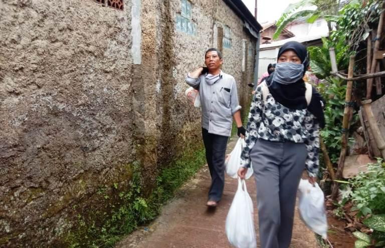 blusukan corona bandung odesa indonesia cimenyan