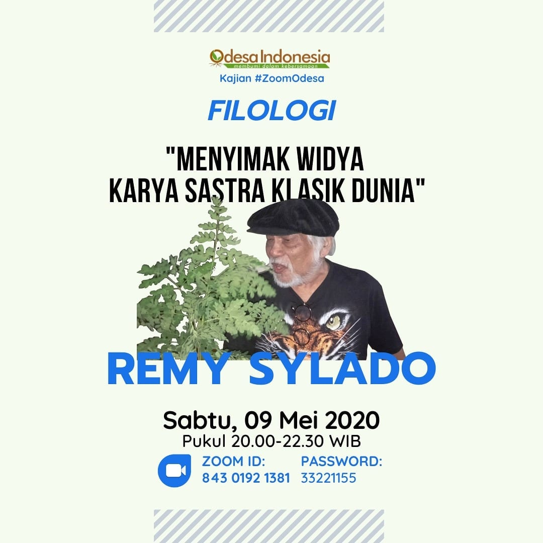 remy sylado zoom odesa indonesia