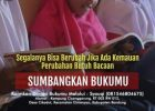Punya Buku Bacaan? Sumbangkan untuk Literasi Anak Desa
